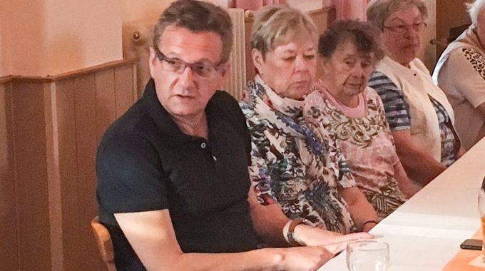 EU-Parlamentarier Dietmar Köster Zu Gast Beim SPD-OV Vogelsang
