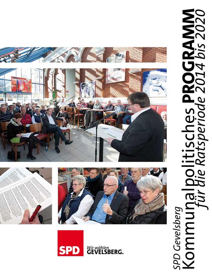SPD Gevelsberg Wahlprogramm 2014