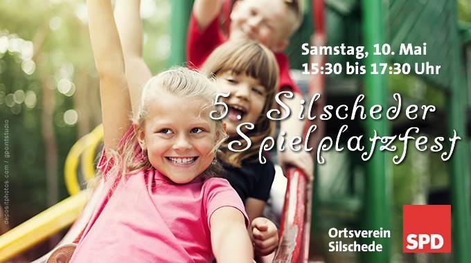 Einladung Zum 5. Silscheder Spielplatzfest, Am Deichselbach