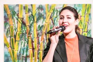 Begeisterte Mit Ihrem Gesang: Lina Ammor.