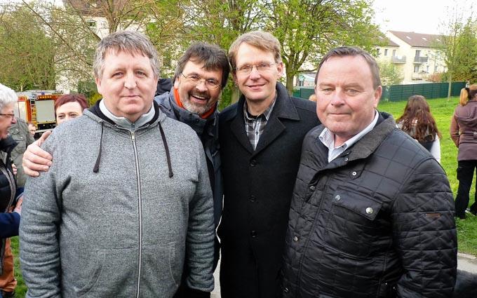 Osterfeuer Der SPD-Vogelsang