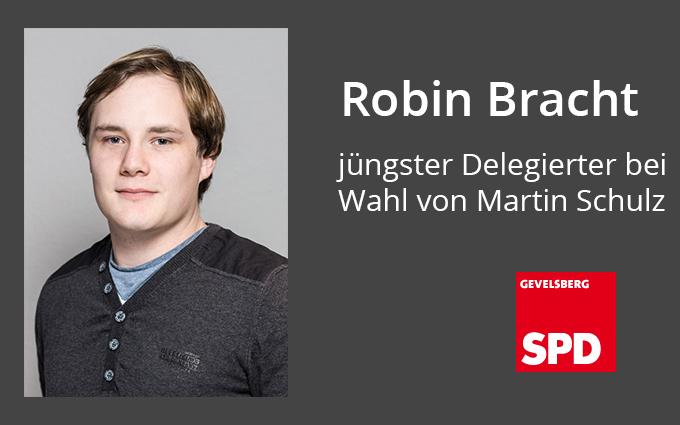 Gevelsberger War Jüngster Delegierter Bei Wahl Von Martin Schulz In Berlin