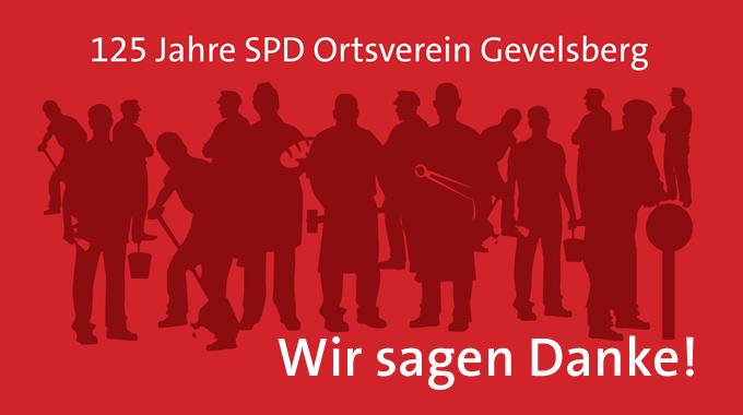 Festakt Zum 125jährigen Jubiläum Des Ortsvereins Gevelsberg