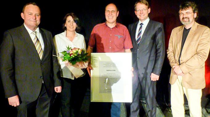 Ehrenpreis Für Andreas Linke – Patenkind Des Bundespräsidenten