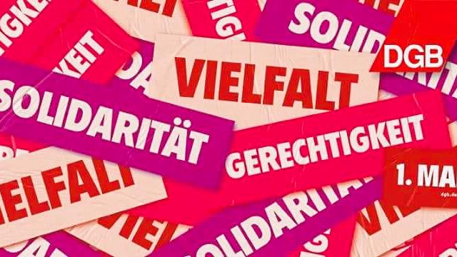 DGB Kundgebung Zum 1 Mai 2018