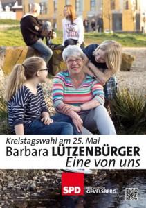 Norina (11) und Milo (8) mit Barbara Lützenbürger am Ennepebogen: Jugend braucht Freiräume!