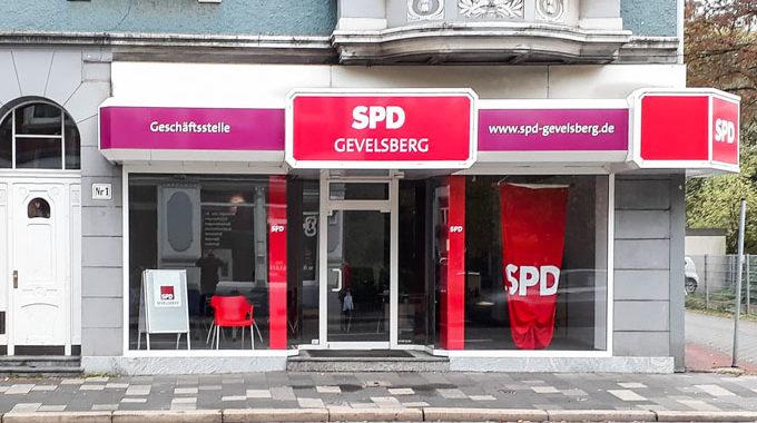 Eröffnung Der SPD Geschäftsstelle