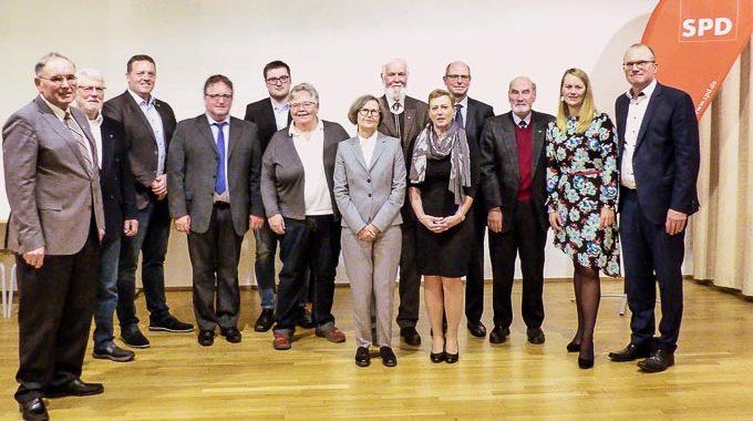 Jubilarehrung Der Gevelsberger Sozialdemokraten