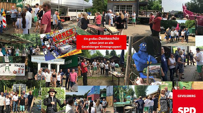 SPD Gevelsberg Besucht Die Bauplätze Der Kirmesgruppen