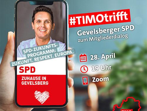 #TIMOtrifft Gevelsberger SPD Zum Mitgliederdialog