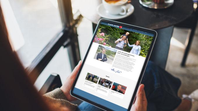 Neue Internetseite Von Claus Jacobi Ist Online