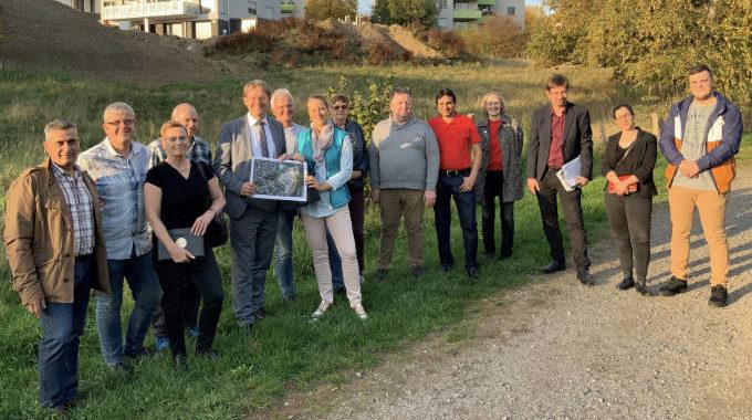 SPD- Fraktion Vor Ort Im Wohnbaugebiet Dörnerbusch