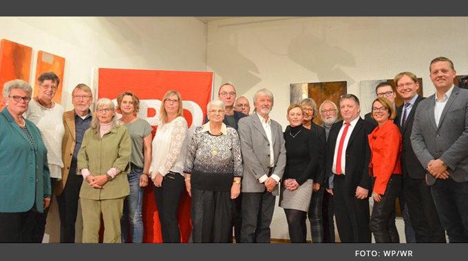 Jubilarehrung Des Stadtverbandes Der Gevelsberger SPD